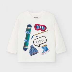 Bluza de baieti din bumbac diverse culori Mayoral