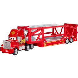 Camion Disney Cars by Mattel Mack cu trailer