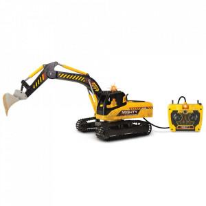 Excavator Dickie Toys Mighty cu telecomanda
