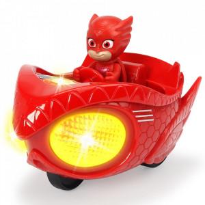 Masina Dickie Toys Eroi in Pijama Mission Racer Owlette cu figurina