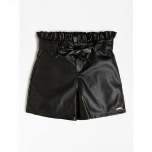 Pantalon scurt din piele ecologica GUESS