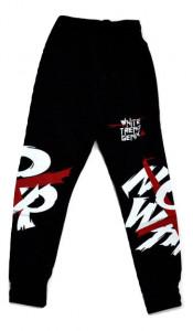 Pantalon trening baieti negru, cu buzunare
