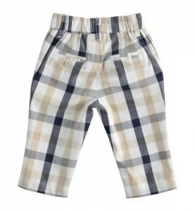 Pantaloni lungi bebe băieți, în carouri , Sarabanda