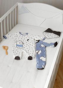 Pijama cu bavețică bebe-băiat, Mayoral