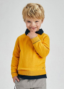 Pulover ECOFRIENDS din bumbac pentru băiat, Mayoral