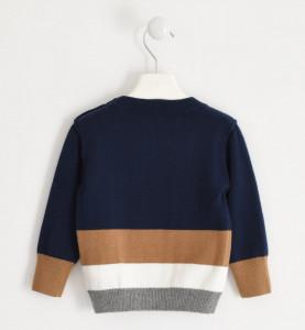 Pulover tricotat din bumbac, IDO