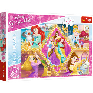 Puzzle Trefl Disney Princess, Aventura printeselor 160 piese