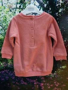 rochita pentru bebe fetita din bumbac cu lame IDO