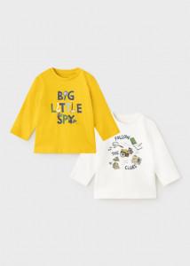 Set tricou ECOFRIENDS cu mânecă lungă, pentru bebe băiat, Mayoral