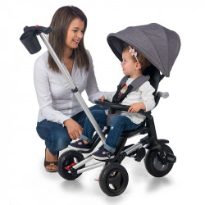 Tricicleta ultrapliabila Qplay Nova Air negru