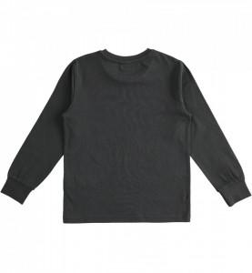 Bluză neagră de băieți din bumbac, IDO