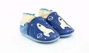 Botosi de piele pentru bebe, nava spatiala, Robeez