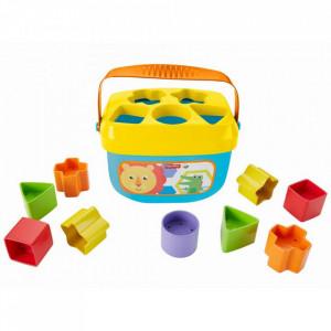 Jucarie cu sortator Fisher Price by Mattel Infant Primele cuburi
