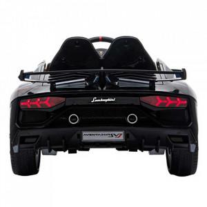 Masinuta electrica Chipolino Lamborghini Aventador SVJ black cu roti EVA
