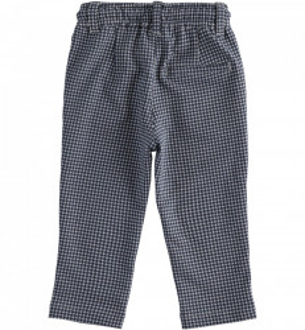 Pantalon lung baiat IDO gri