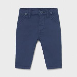 Pantalon nou nascut baiat din tercot cu bretele Mayoral
