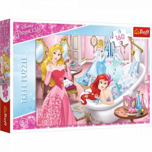 Puzzle Trefl Disney Princess, Odihna dupa bal 160 piese