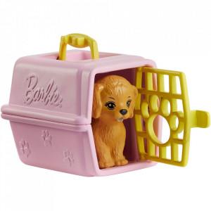 Set Barbie by Mattel I can be Cabinet veterinar GJL68 cu accesorii