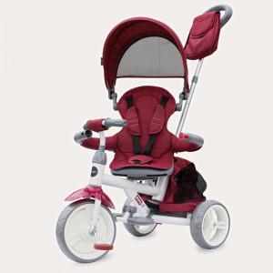 Tricicleta cu sezut reversibil Coccolle Evo (2019) Visiniu