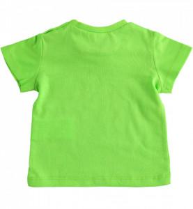 Tricou bebelus , Ido , bumbac , verde