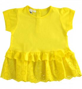 Tricou copii galben,ido