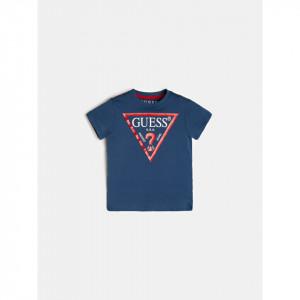 Tricou din bumbac cu mânecă scurtă pentru băieți, Guess