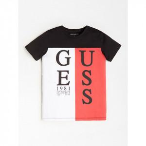 Tricou Guess in 3 culori cu maneca scurta din bumbac