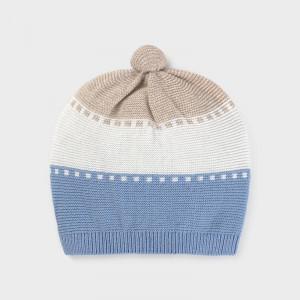 Caiulita tricotata pentru bebe baiat Mayoral