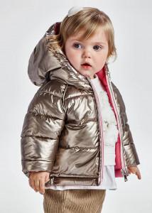 Geacă ECOFRIENDS reversibilă pentru bebe fată, Mayoral