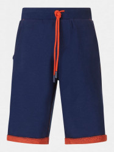 Pantaloni scurți cu manșete portocalii, Guess