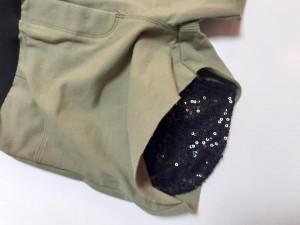 Pantaloni scurti fete Ido kaki