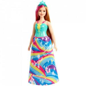 Papusa Barbie by Mattel Dreamtopia printesa GJK16