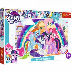 Puzzle Trefl Maxi My Little Pony, Poneii veseli 24 piese
