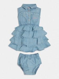 Rochiță Blue Jeans cu volănașe, Guess
