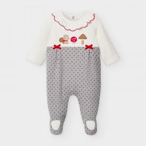 Salopeta bebe nou nascut fetita Mayoral