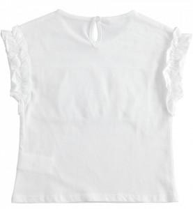 Tricou fete, IDO , alb