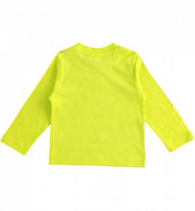 Tricou maneca lunga baiat IDO verde
