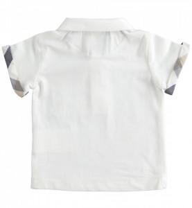 Tricou polo băiat nou născut din bumbac, Sarabanda