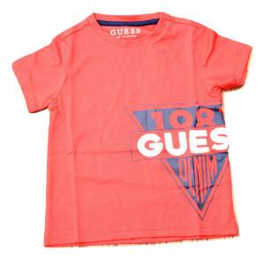 Tricou roșu cu logo, Guess