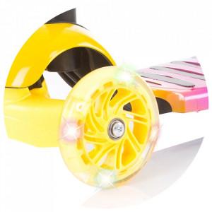 Trotineta Chipolino Disco orange yellow