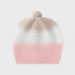 Caciula tricotata de bebe