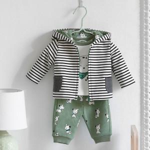 Costum bebe baiat cu pantaloni verzi Mayora