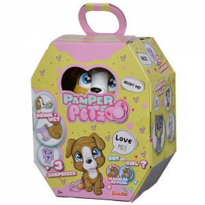 Jucarie Simba Caine Pamper Petz Dog cu accesorii