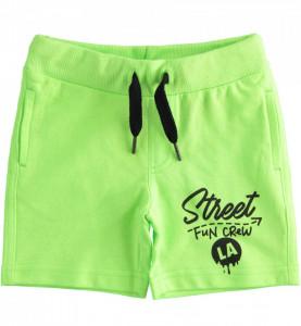 Pantaloni verzi din bumbac de baiat IDO