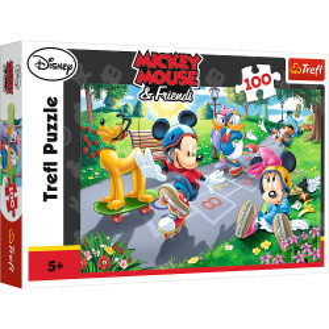Puzzle Trefl Disney Mickey Mouse, Joaca pe role 100 piese