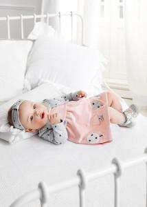 Rochie cu bolero și bentiță pentru nou-nascut fată, Mayoral