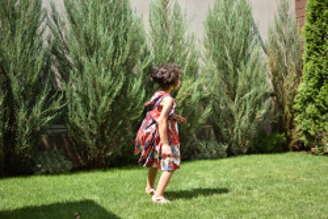 Rochie multicolora plisata