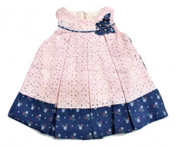 Rochita bebe roz perforat