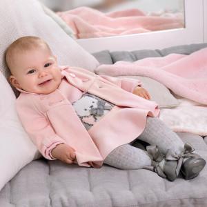 Rochita tricotata din bumbac pentru nou nascut Mayoral
