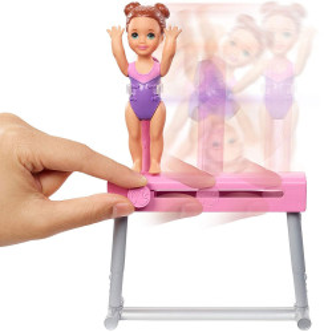 Set Barbie by Mattel I can be Sport 2 papusi cu accesorii FXP39